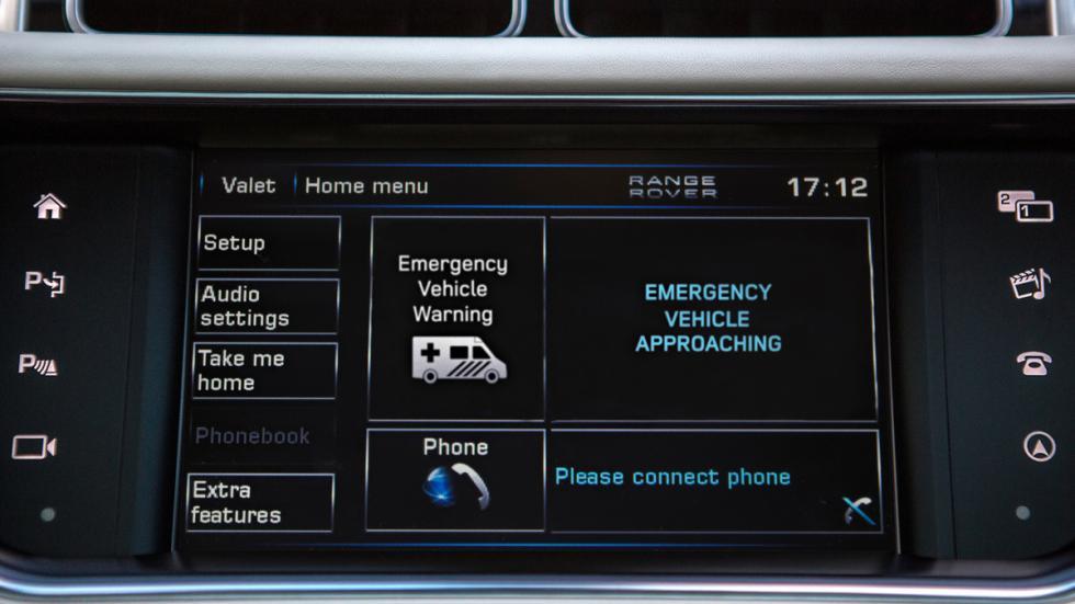 aviso aproxima vehiculo emergencia