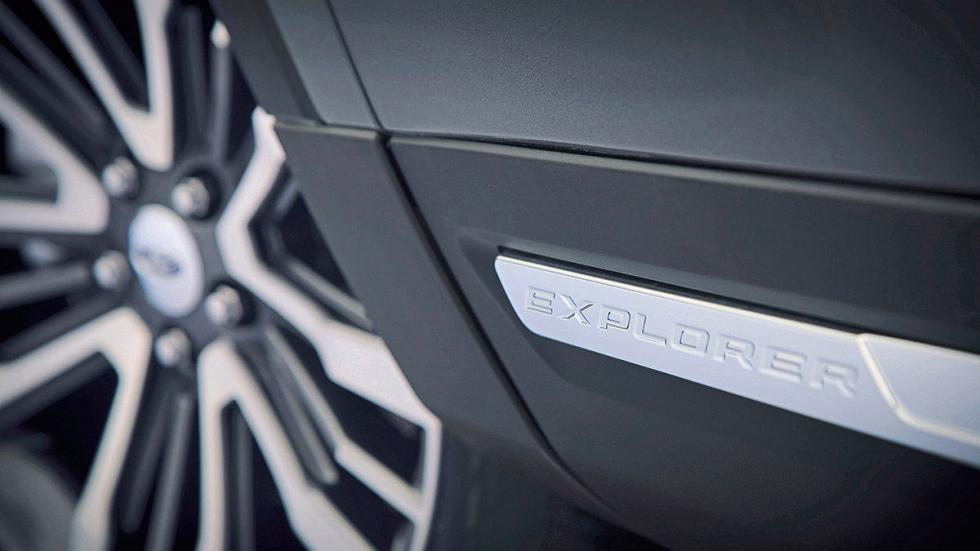 Prueba: Ford Explorer 2016 llanta