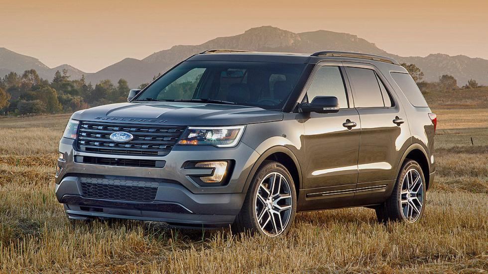 Prueba: Ford Explorer 2016 morro
