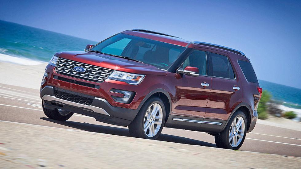 Prueba: Ford Explorer 2016 faros