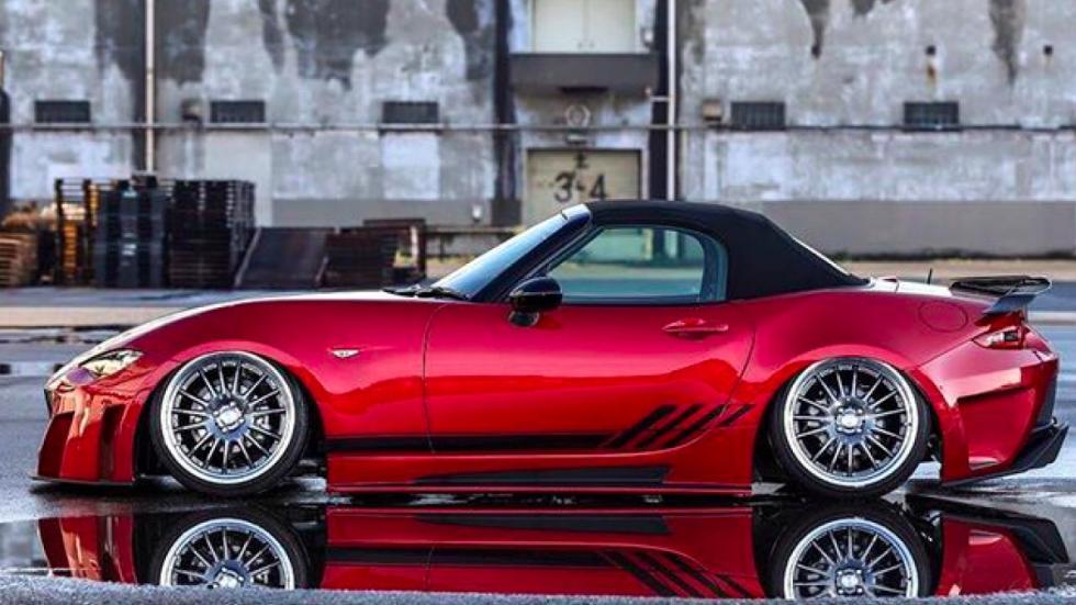 Mazda MX-5 Kuhl Racing lateral