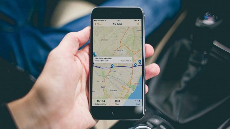 smartphone avances conduccion