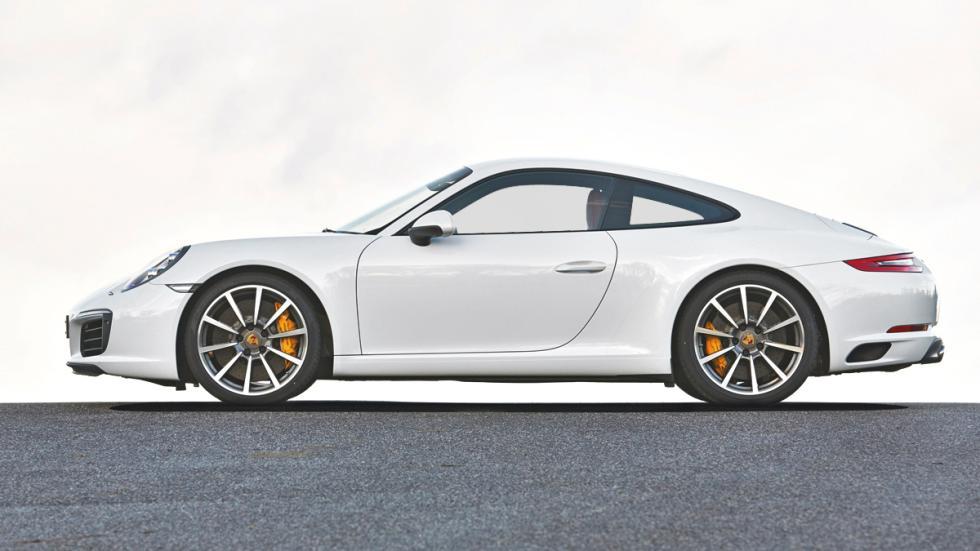 Porsche 911 2016 lateral