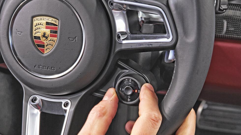 Porsche 911 2016 modos conduccion