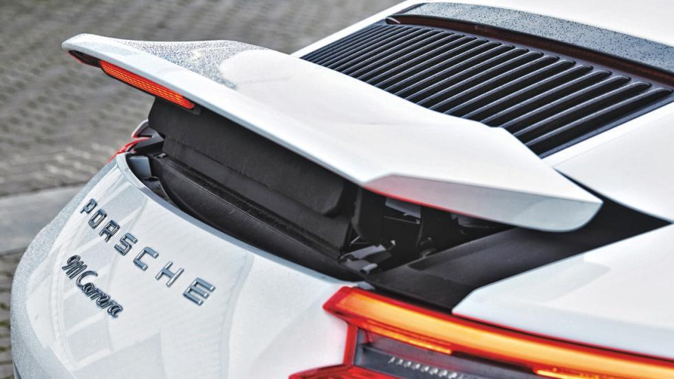 Porsche 911 2016 tapa motor