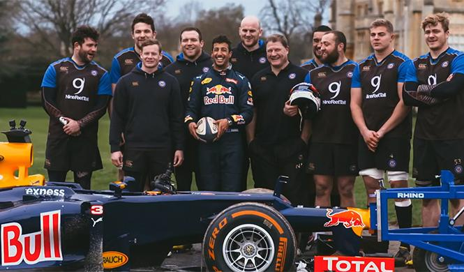 F1 vs Rugby 7