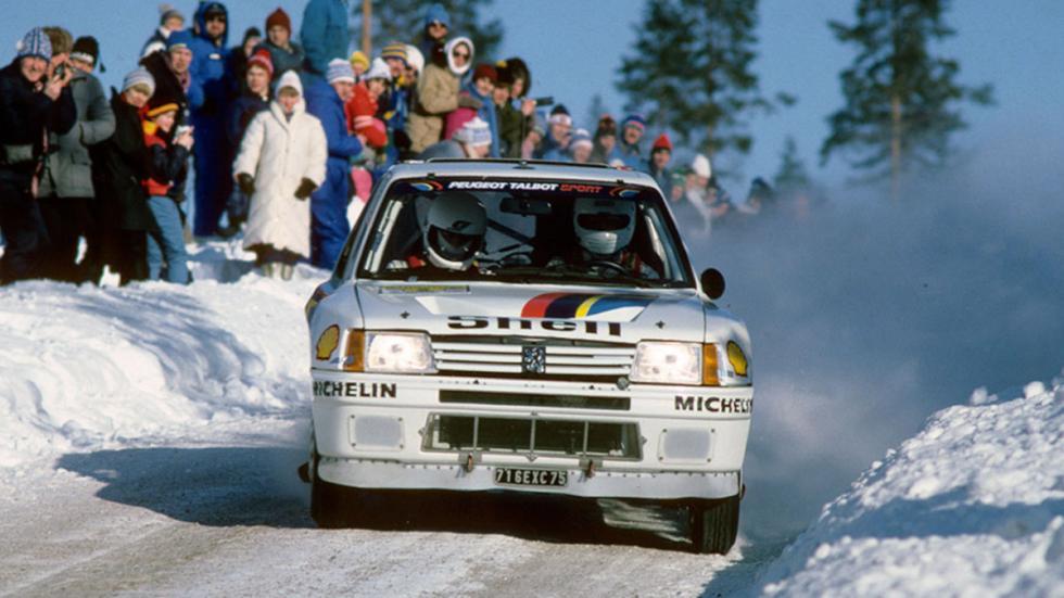 Peugeot 205 T16 C11 Suecia 85