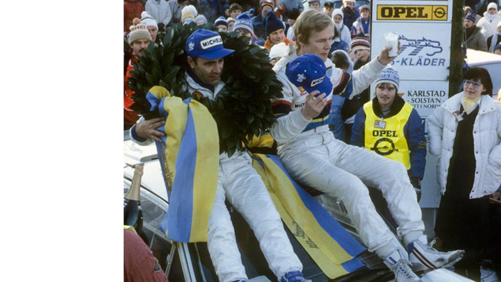Peugeot 205 T16 C11 Suecia 85 victoria