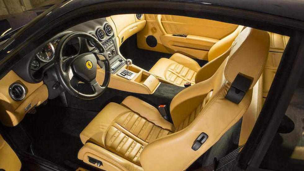 Ferrari 575M Manual interior