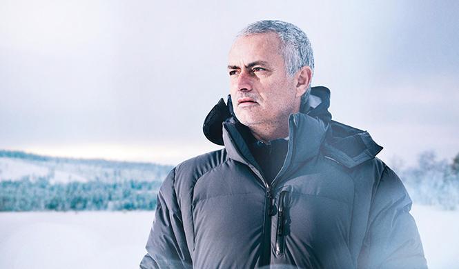 Mourinho Jaguar F-Pace hielo 6