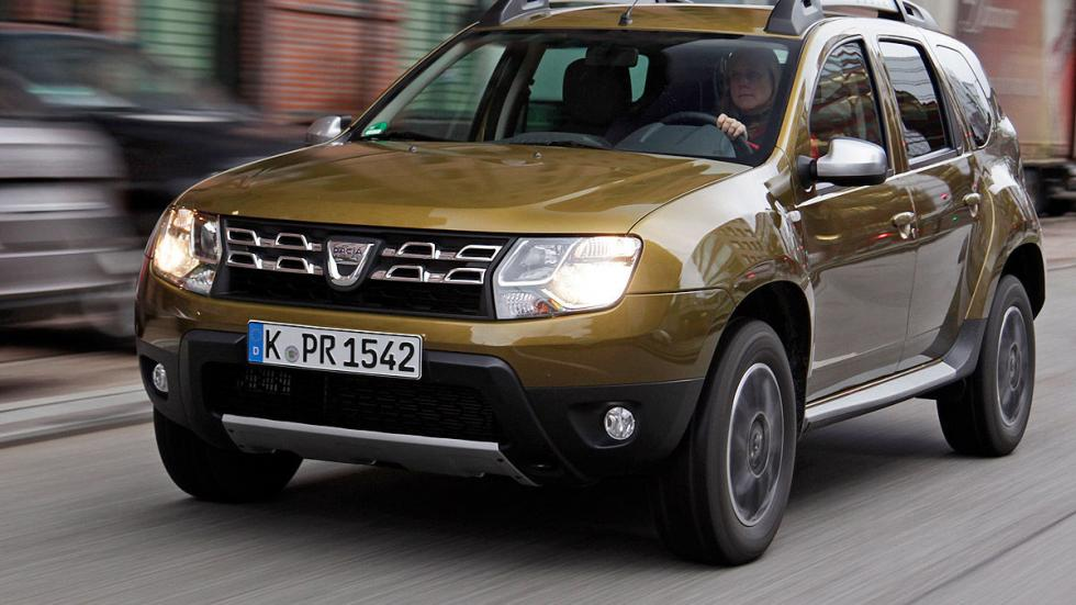 Dacia Duster faros