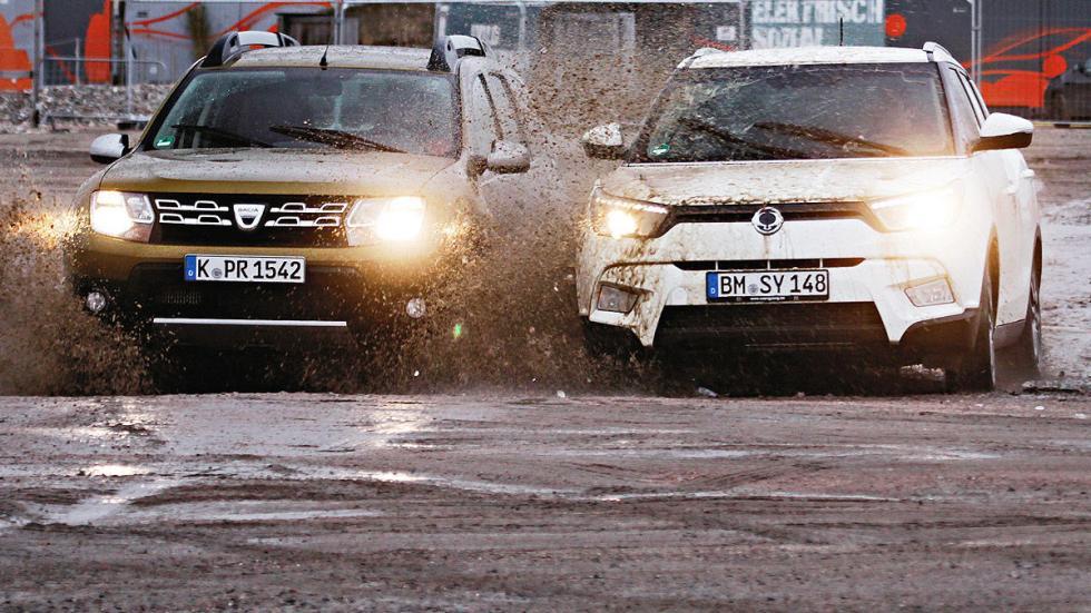 Cara a cara: Dacia Duster vs SsangYong Tivoli.
