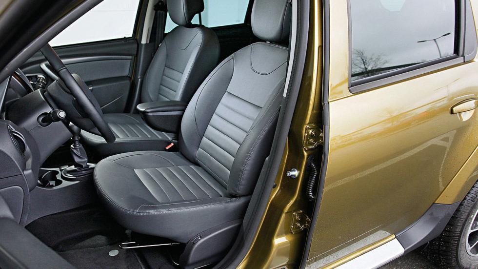 Dacia Duster asientos