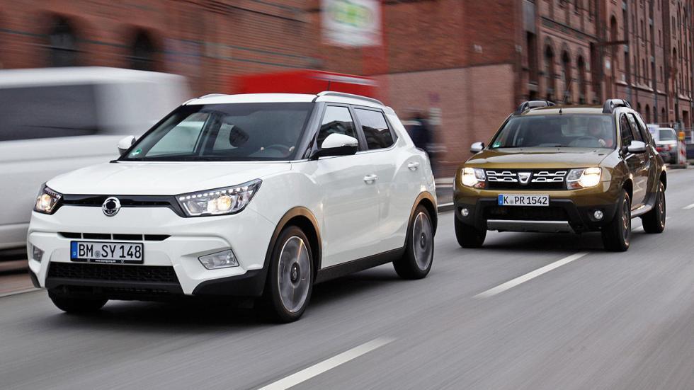 Cara a cara: Dacia Duster vs SsangYong Tivoli