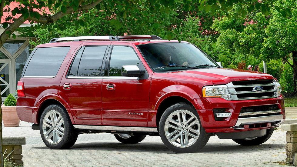 Ford Expedition lateral llantas
