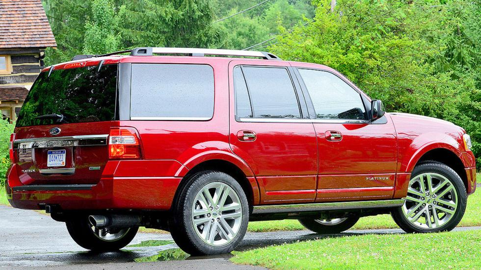 Ford Expedition zaga trasera