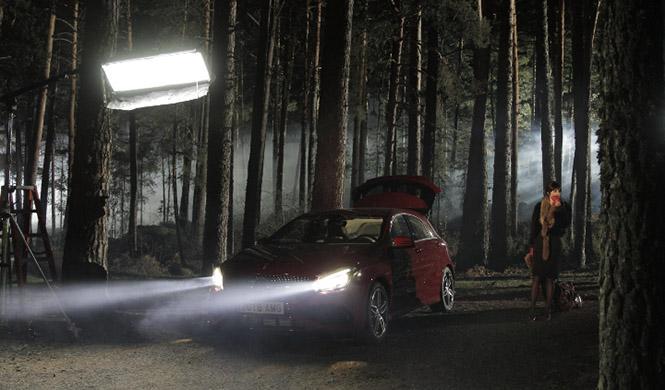 Anuncio Maribel Verdú Mercedes Benz