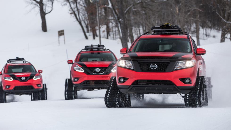 Nissan Rogue, el Nissan Pathfinder y el Nissan Murano