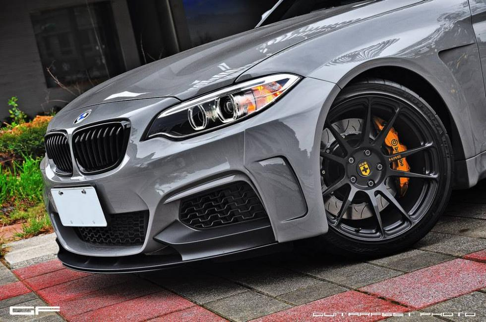 BMW M235i by Manhart detalle