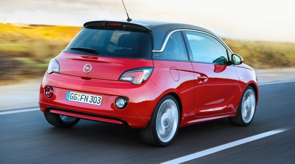 Opel Adam GLP tres cuartos traseros