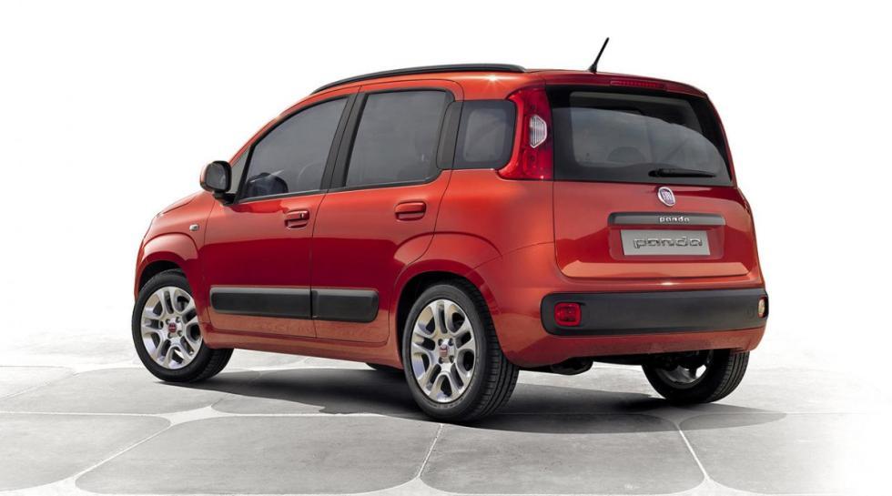 Fiat Panda tres cuartos traseros