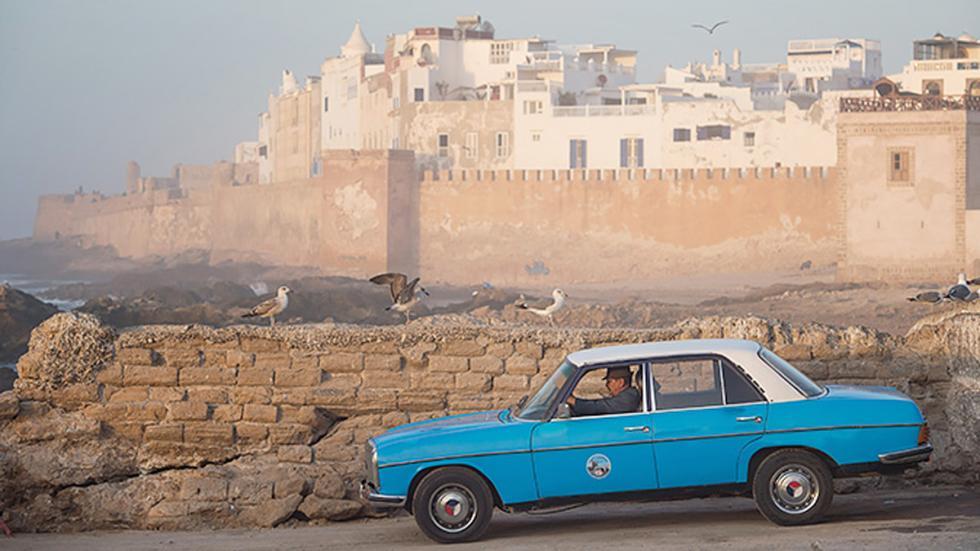 marruecos iconico taxi