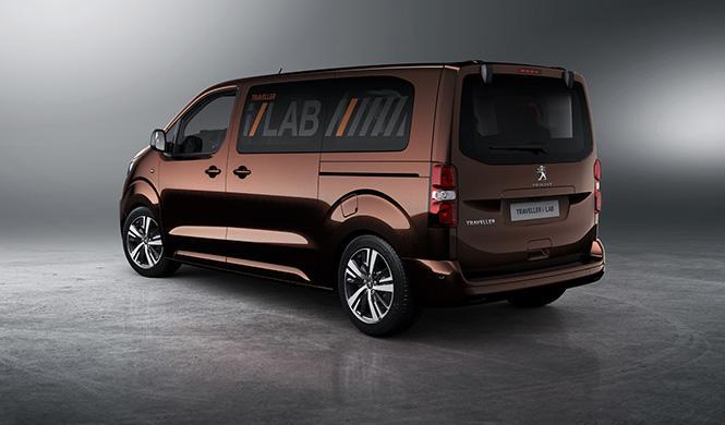 Peugeot Traveller i-Lab 2