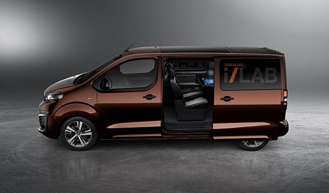 Peugeot Traveller i-Lab 5