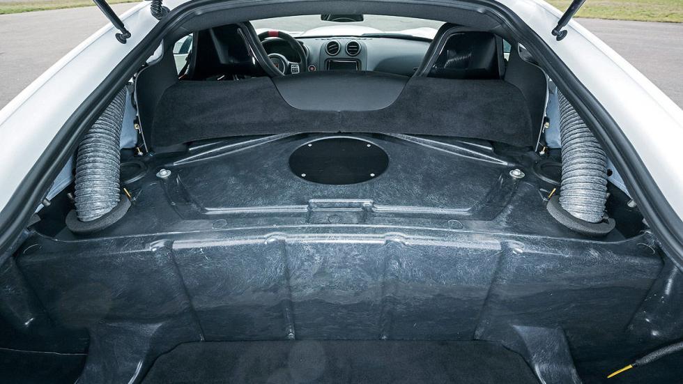 Dodge Viper ACR zaga interior