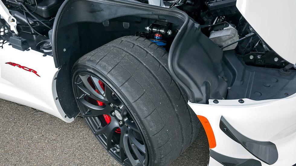 Dodge Viper ACR detalle rueda