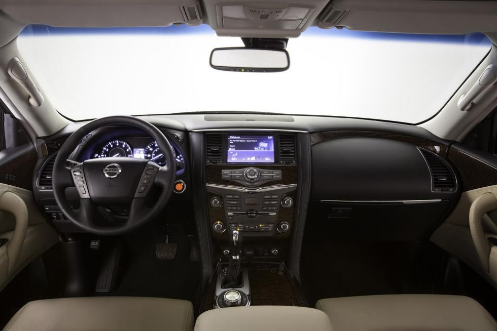 Nissan Armada 2017 interior