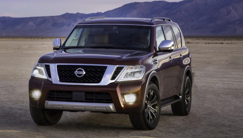 Nissan Armada 2017 frontal