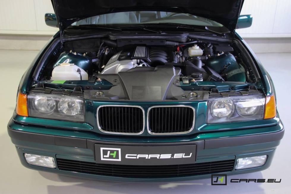 El BMW 320i E36 de 1995 morro