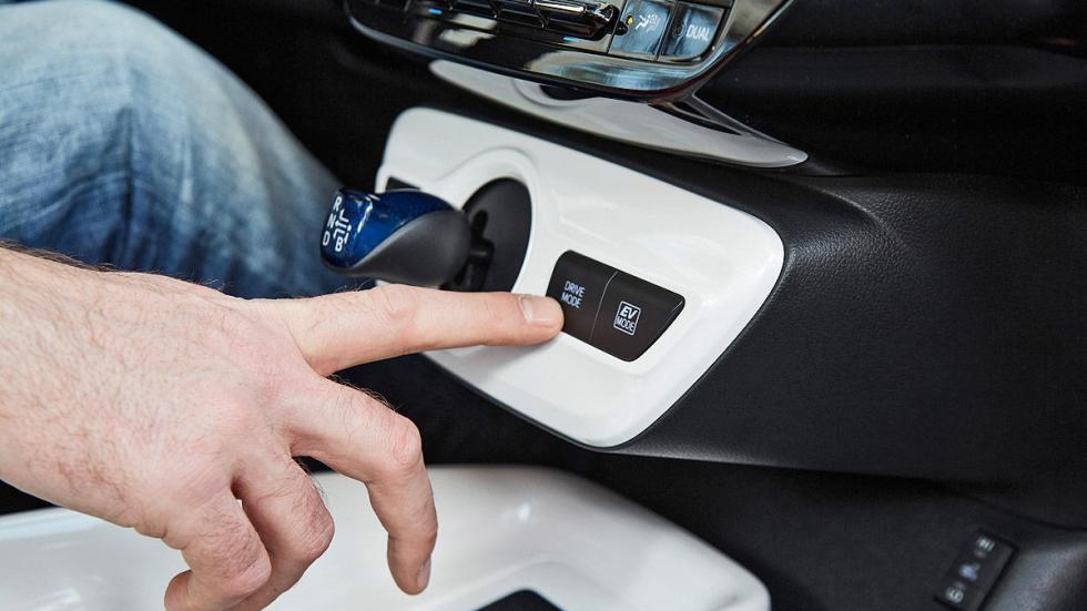 Toyota Prius 2016 botón