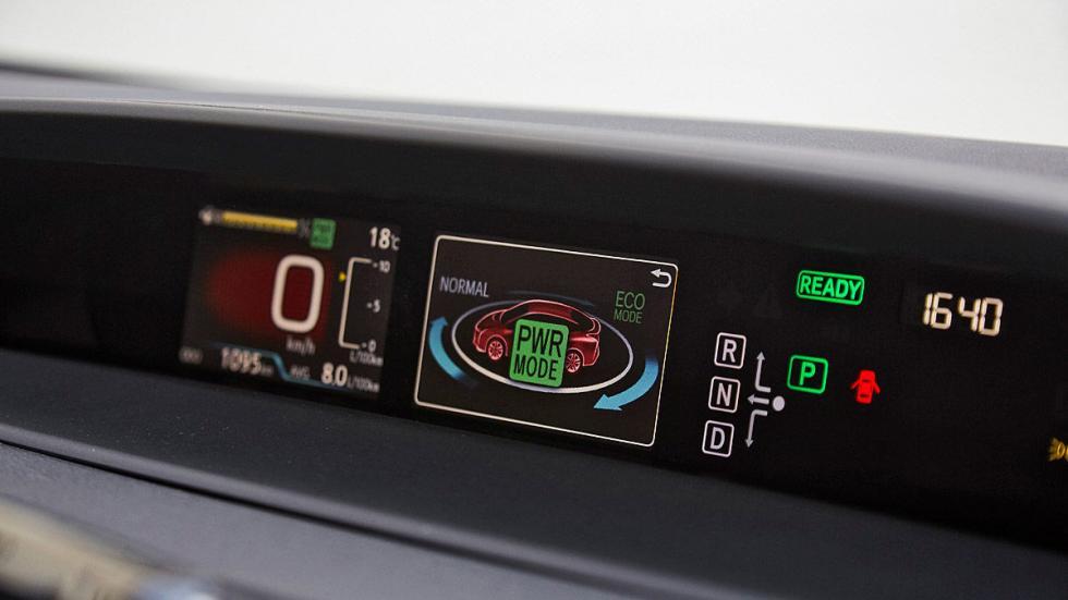 Toyota Prius 2016 detalle indicador