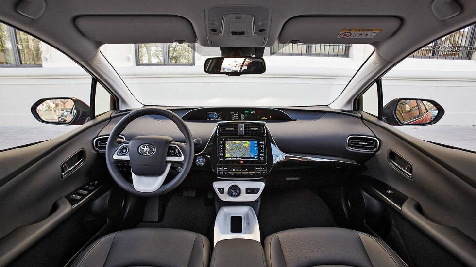 Toyota Prius 2016 detalle interior