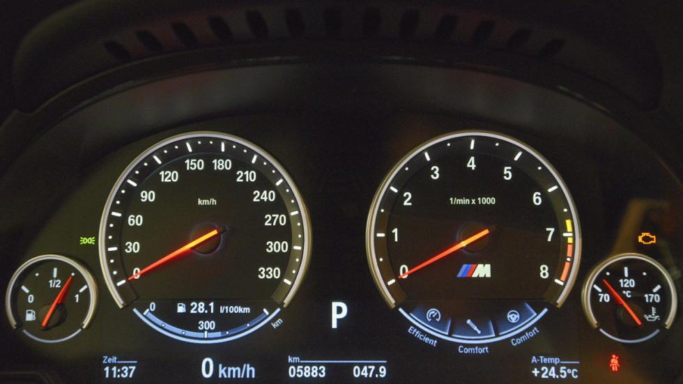 BMW M6 relojes