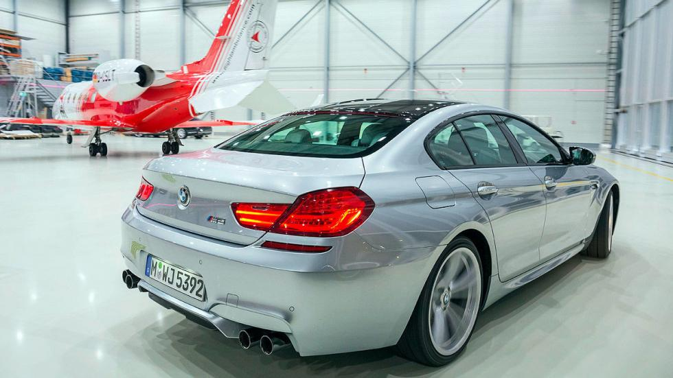 BMW M6 pilotos
