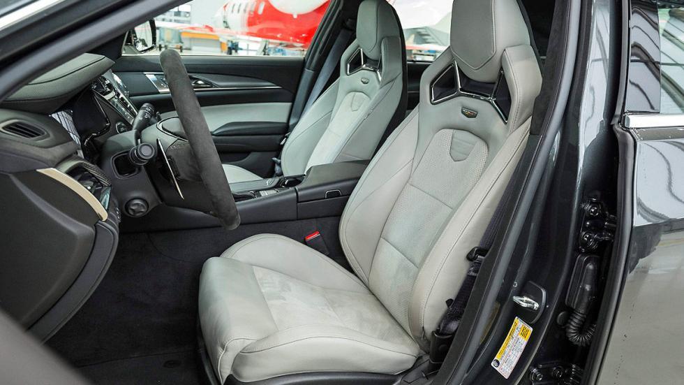 BMW M6 asientos
