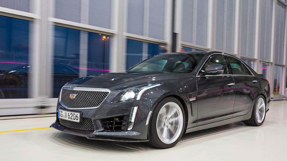 Duelo: Cadillac CTS-V/Audi RS 7/BMW M6/ Mercedes AMG CLS -- Autobild.es