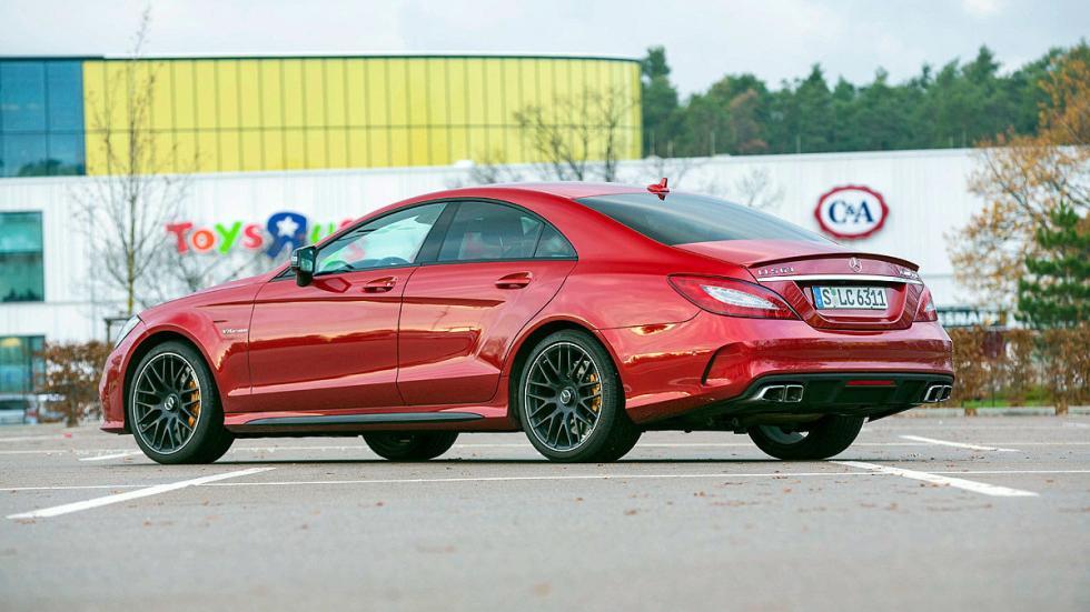 Mercedes-AMG CL lateral llanta zaga