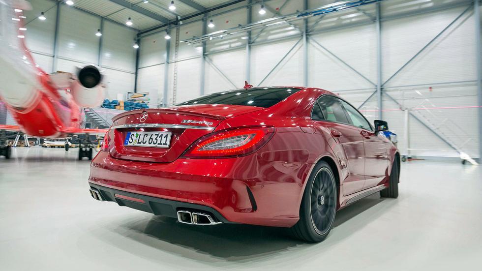 Mercedes-AMG CL lateral llanta zaga pilotos