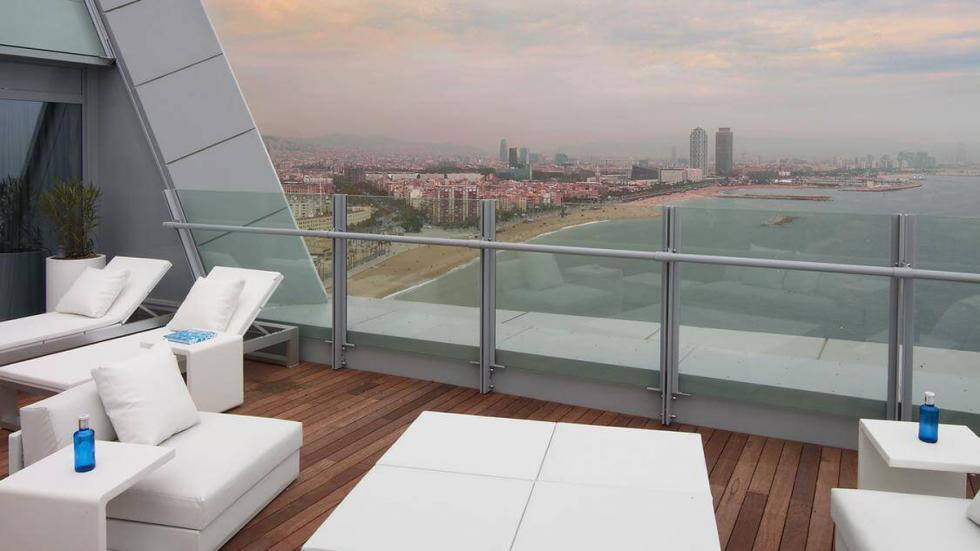 terraza hotel w