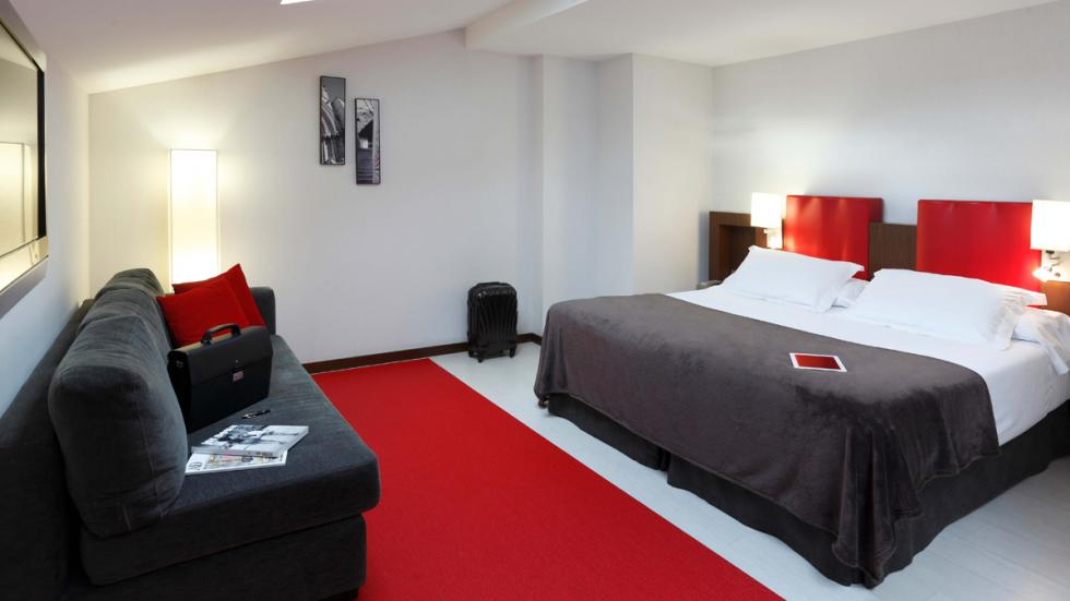 habitacion  Hotel Ciutat de Girona