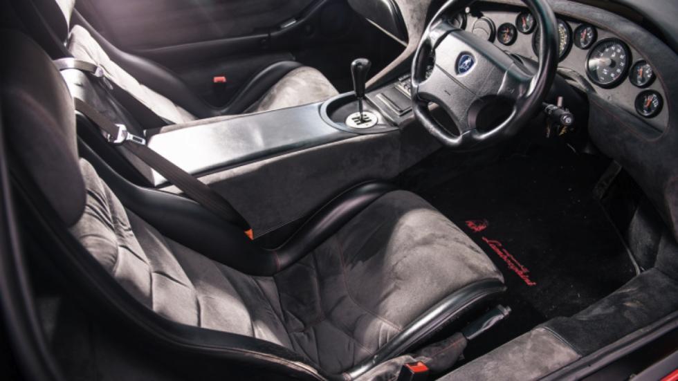 Lamborghini Diablo 1999 subasta interior