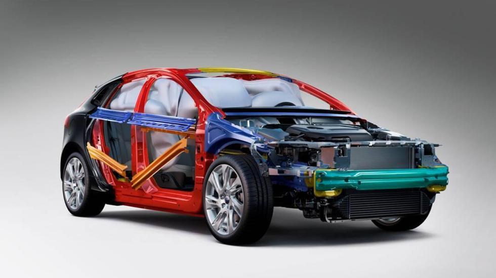 airbags interiores volvo v40