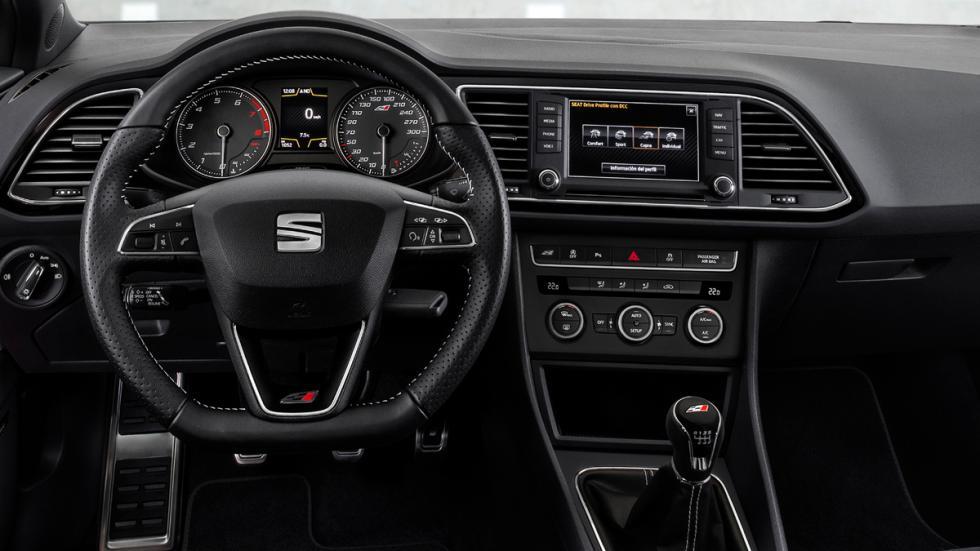 Seat León Cupra 290 2016 interior