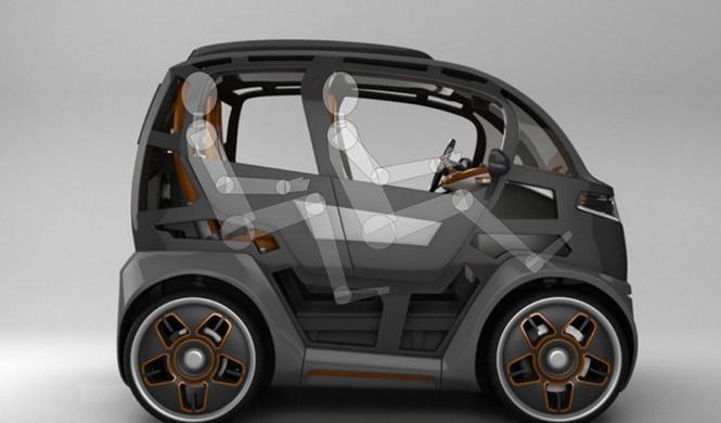Espejo Provocador el coche inteligente ciudades del futuro 2