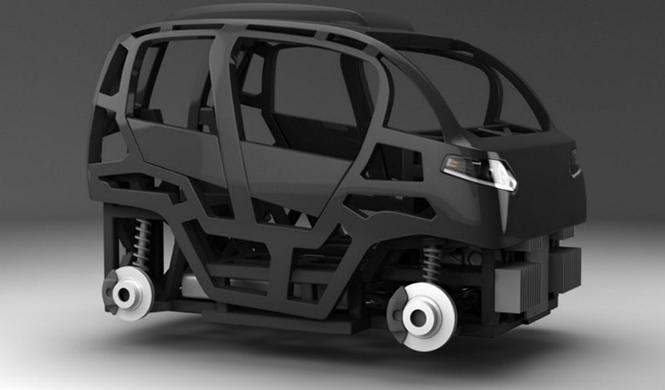 Espejo Provocador el coche inteligente ciudades del futuro 4