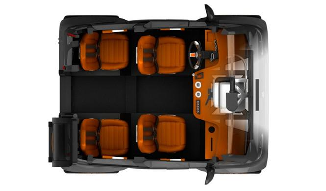 Espejo Provocador el coche inteligente ciudades del futuro 5